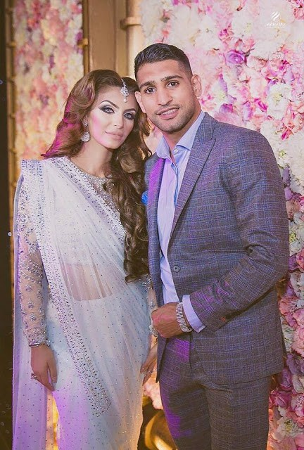 Boxer Amir Khan Daughter Birthday