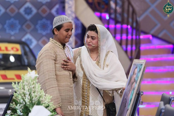 Amjad Sabi's son in Ramzan Transmission (4)