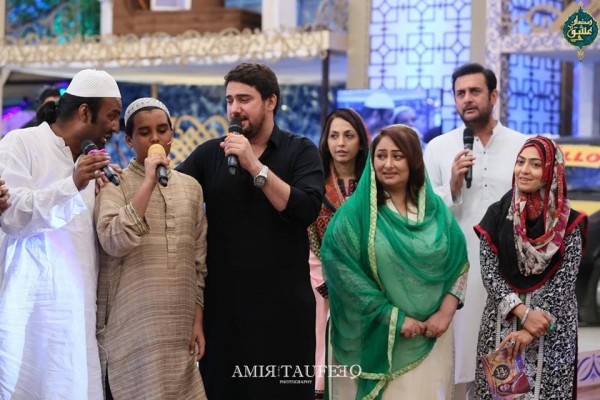 Amjad Sabi's son in Ramzan Transmission (8)