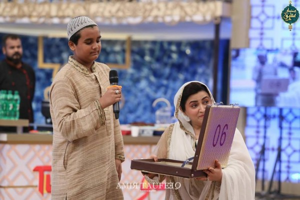 Amjad Sabi's son in Ramzan Transmission (9)