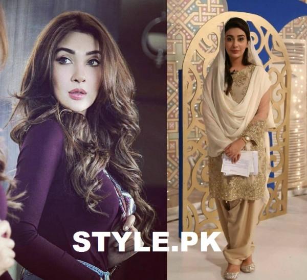 Ayesha Khan Before and During Ramadan