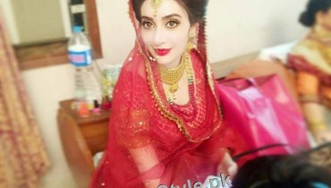 See Ayesha Khan's bridal photoshoot