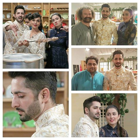 Ayeza Khan and Danish Taimoor on Last Day of Mehman nawaz (2)