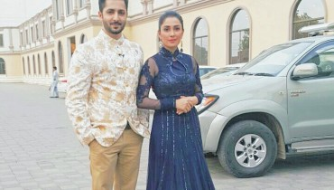 see Ayeza Khan and Danish Taimoor on Last Day of Mehman nawaz