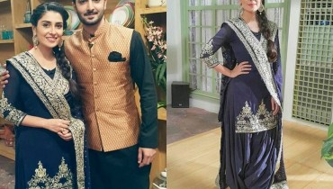See Ayeza Khan in purely Desi Look