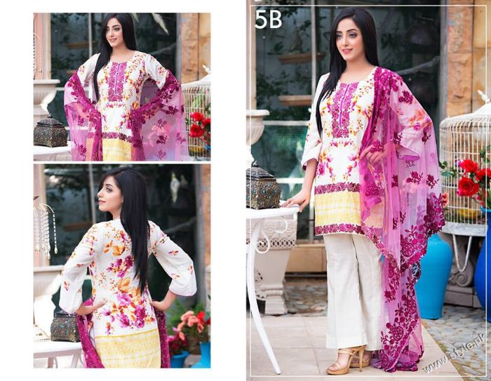 fffeb3c0a3 ZS Textile Kalyan Eid Collection 2016 - Style.Pk