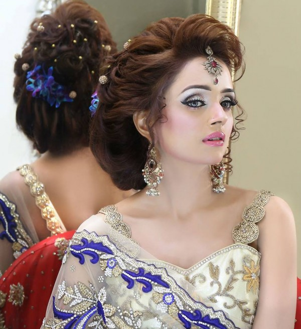 HD wallpapers bridal hairstyles for short hair in indian
