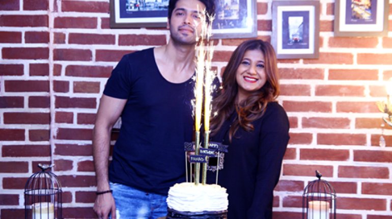 See Fahad Mustafa Celebrating his birthday