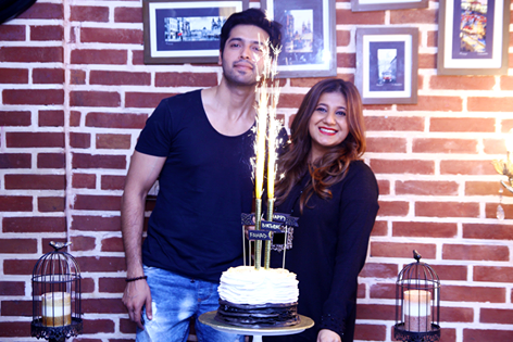 Fahad Mustafa Celebrating his birthday