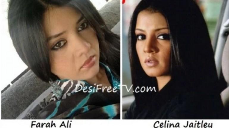 Farah Ali look alike Celina Jaitley