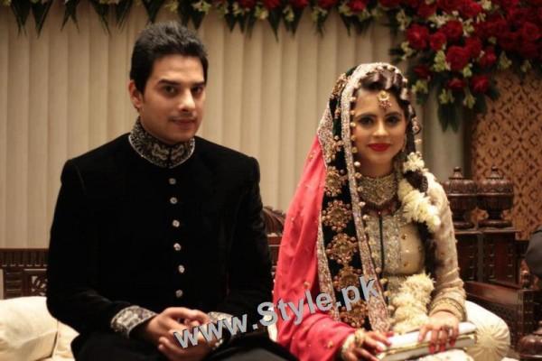 Fatima Effendi is wearing her real bridal dress in upcoming drama (2)