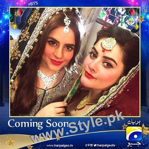 Fatima Effendi is wearing her real bridal dress in upcoming drama (3)