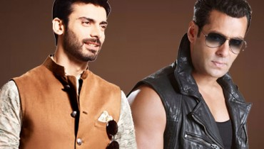 Fawad Khan and Salman Khan