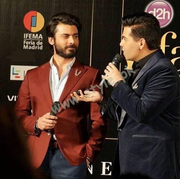 Fawad khan at IIFA Awards00