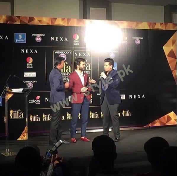Fawad khan at IIFA Awards01