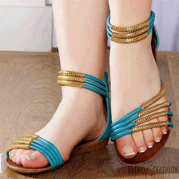 Flat Sandals for Eid 2016 (4)
