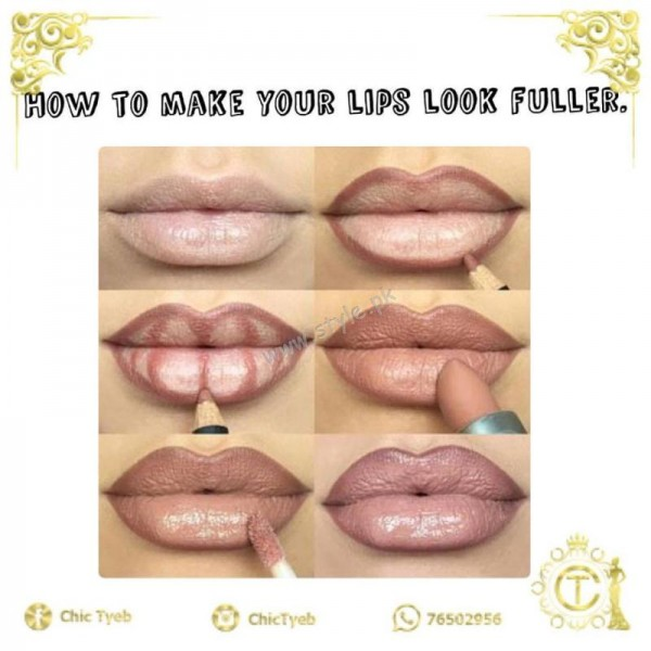 How To Get Plump Lips With Makeup Mugeek Vidalondon