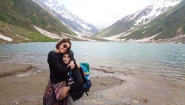 See Hadiqa Kiani's tour to Nothern Areas