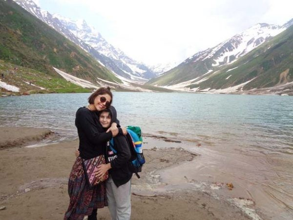 See Hadiqa Kiani's tour to Nothern Areas