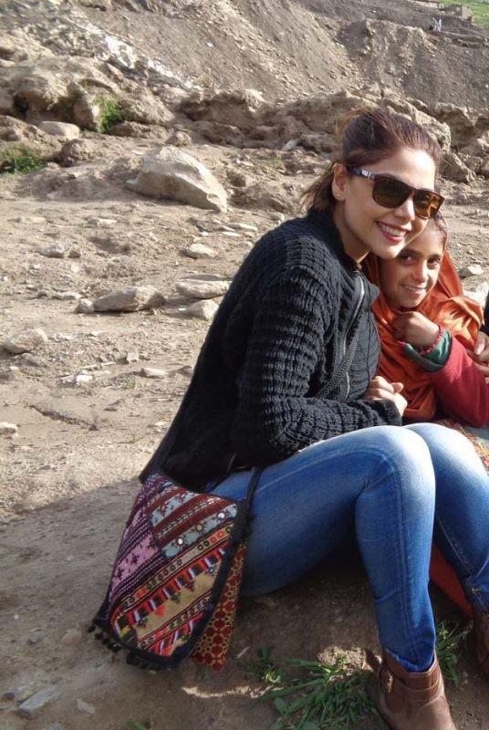 Hadiqa Kiani's tour to Nothern Areas (3)