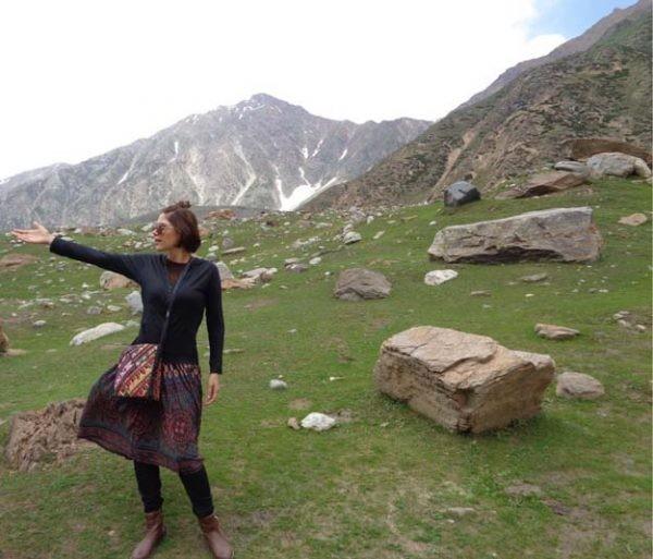 Hadiqa Kiani's tour to Nothern Areas (4)