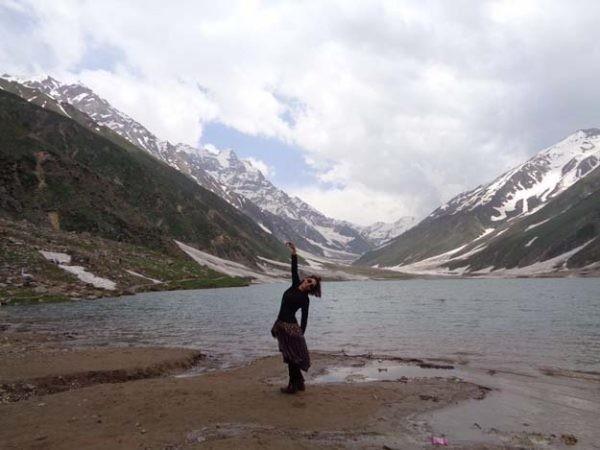 Hadiqa Kiani's tour to Nothern Areas (5)
