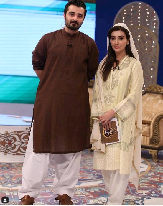 Hamza Ali Abbasi and Ayesha Khan Ramadan 2016
