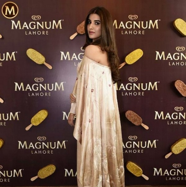 Hareem Farooq at Magnum Event Lahore