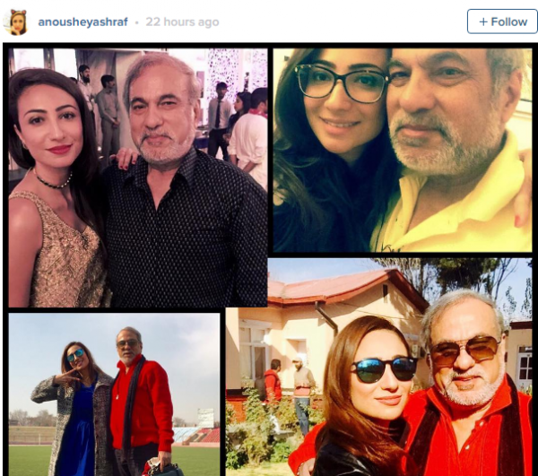 How celebrities wished their fathers on Father's day (8)