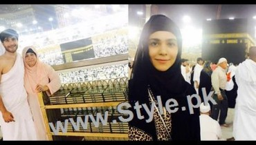 See Humaima Malick and Feroze Khan performed Umrah Today