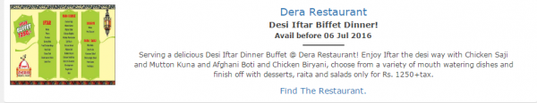 Iftar deals in Famous Restaurants of Pakistan (1)