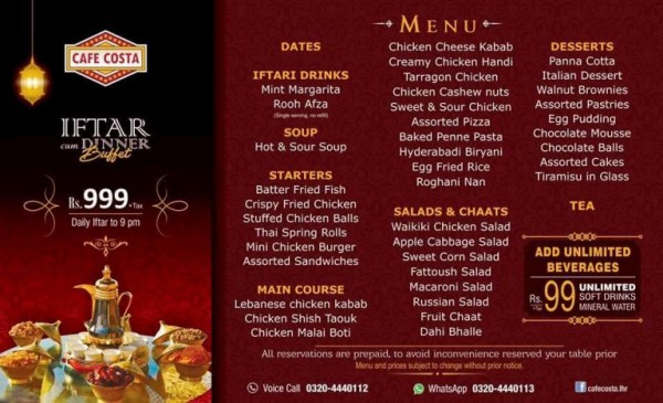 Iftar deals in Famous Restaurants of Pakistan (4)