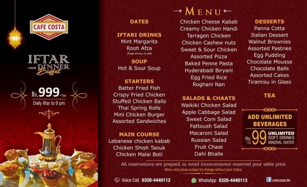 Iftar deals in Famous Restaurants of Pakistan (6)