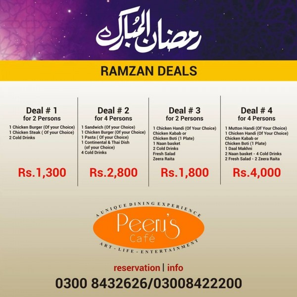 Iftar deals in Famous Restaurants of Pakistan (8)