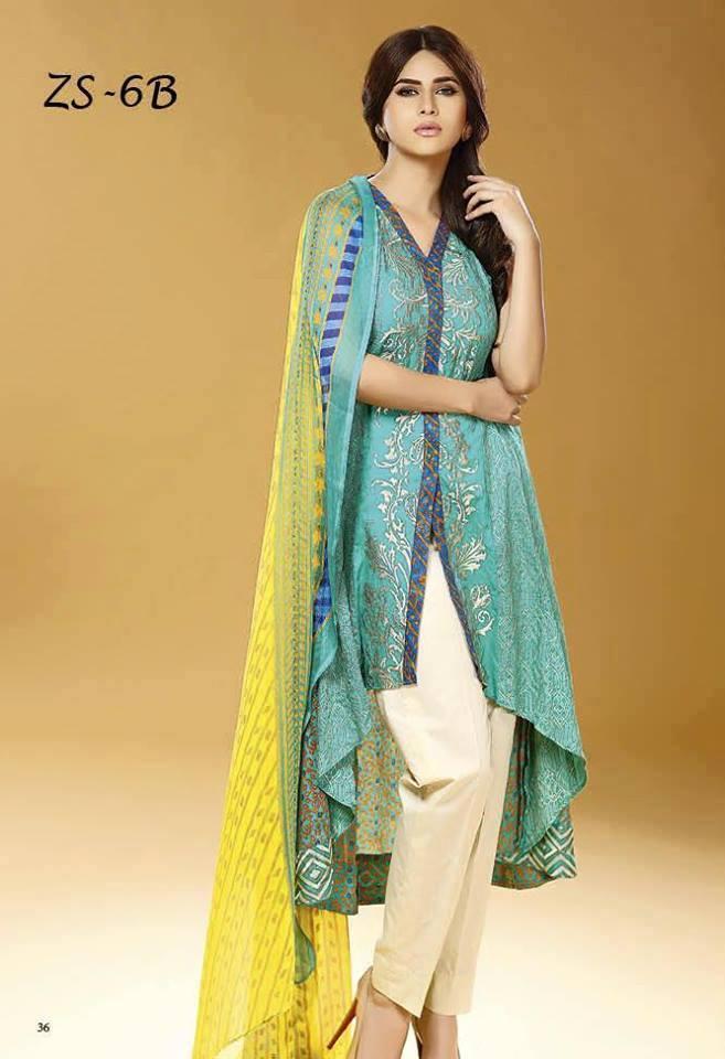 7e8944494a Pakistani Eid Dress Designs 2016 For Ladies - Style.Pk