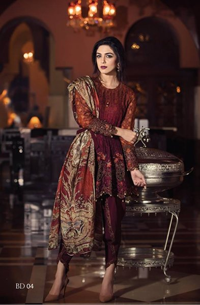 Maria B Eid Dresses 2016 For Women006