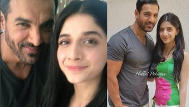 Mawra Hocane and John Abraham Photo