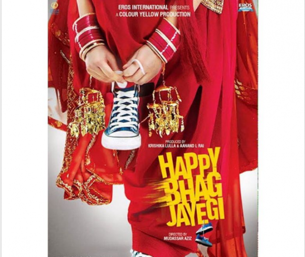 Momal Sheikh's Bollywood Movie is Happy Bhaag Jayegi (1)