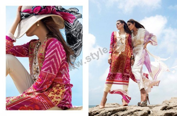 Muzlin Embroidered Unstitched Collection - 04