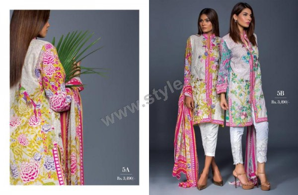 Muzlin Embroidered Unstitched Collection - 09