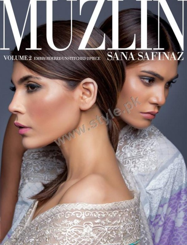 Muzlin Embroidered Unstitched Collection - Vol 2