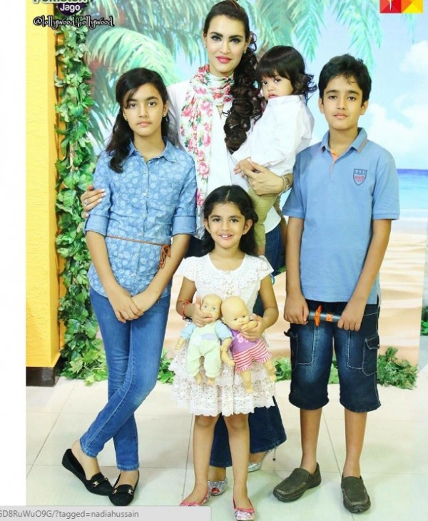 Nadia Hussain Family