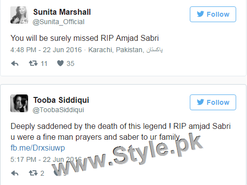 Nation Prays, Rest In Peace Amjad Sabri (1)