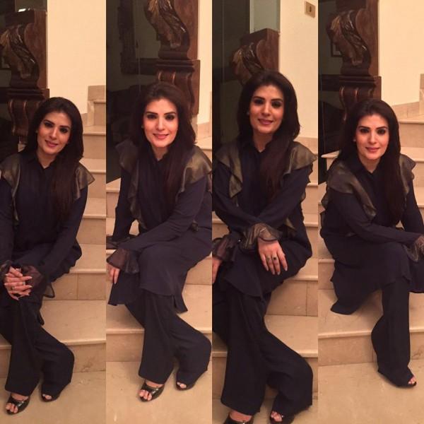 Pakistani Celebrities Enjoying Sehri together (8)