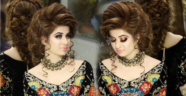 Pakistani Hairstyles for Eid 2016