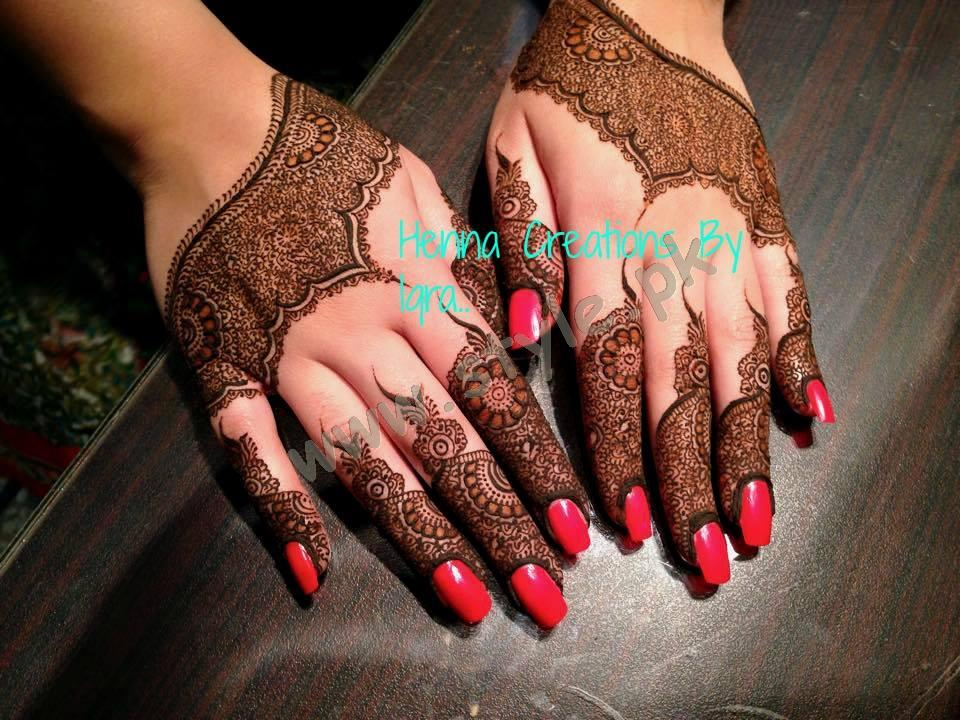Pakistani mehndi designs for eid 2016 03