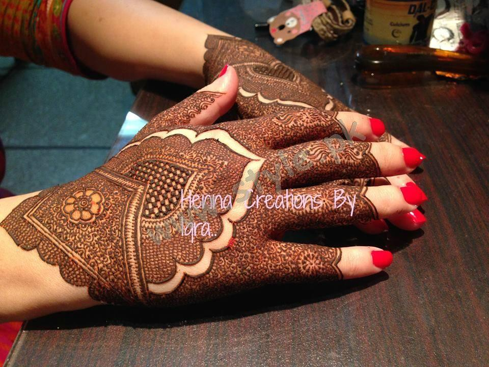 Pakistani mehndi designs for eid 2016 04