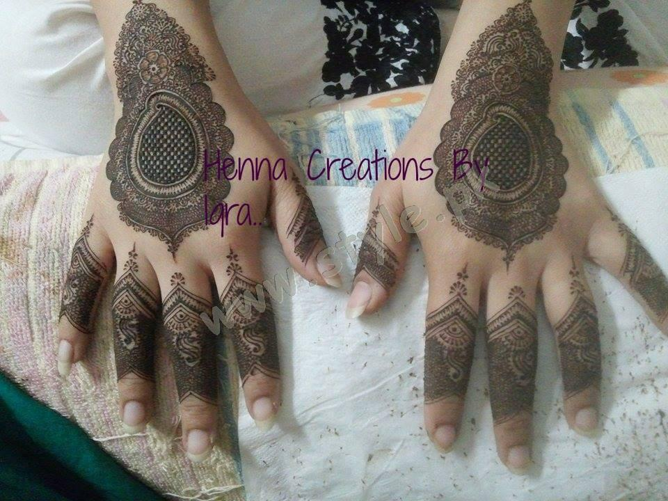 Pakistani Mehndi Designs For Eid 2016 Style Pk