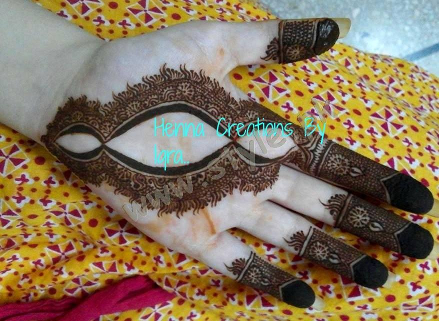 Pakistani mehndi designs for eid 2016 07