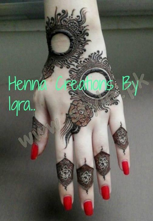 Pakistani mehndi designs for eid 2016 11